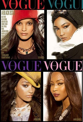 "The ""All Black"" Issue Of Italian Vogue: Both A Success And A Failure"