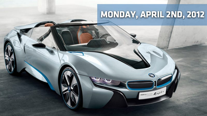 BMW i8 Concept Spyder, Fisker Atlantic, And Chevy May Kill 'Run Deep'