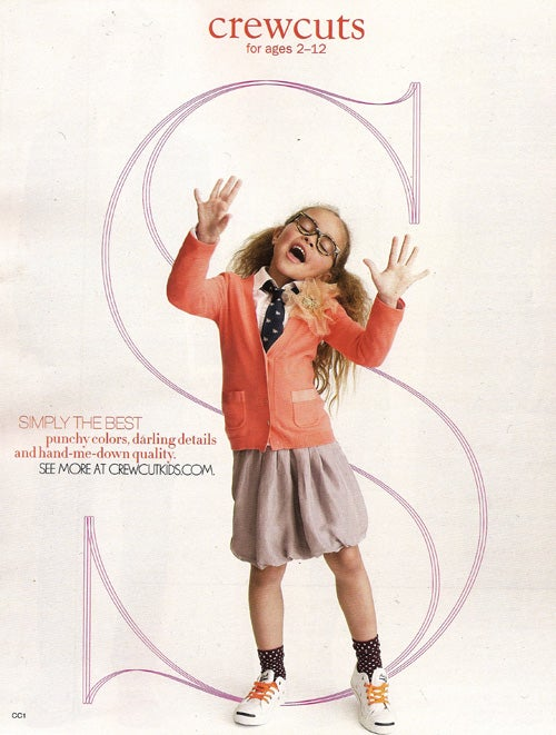 J.Crew's Ovary-Busting Child Models Should Come With A Warning