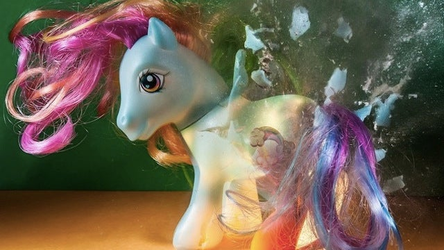 Ponies and Pikachu are blown up in the name of art