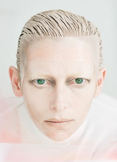 Tilda Swinton: Our New Favorite Androgynous Alien