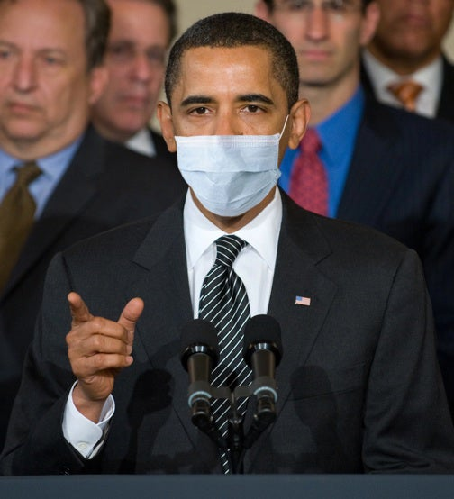 The Flu Is Coming From Inside the White House!