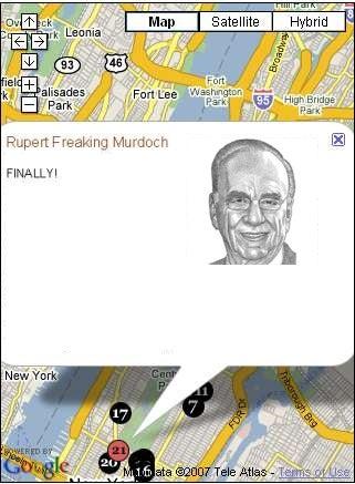 Stalking Rupert Murdoch