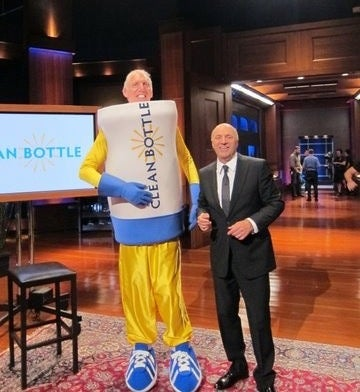 Here Is Bill Walton Dressed As A Water Bottle, Because We Love You