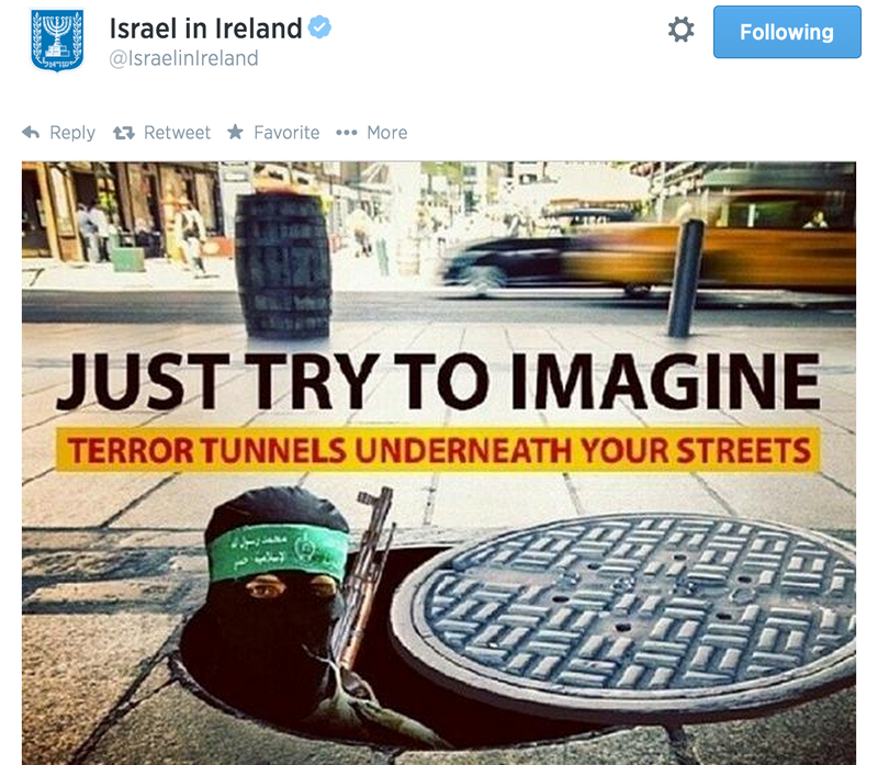This Israeli Government Account Is Tweeting Out Bullshit Graphic Pics