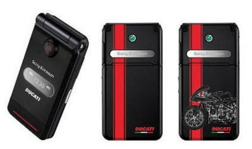 Sony Ericsson Teams With Ducati For Cell Phone, Rich Dudes In Loveless Marriages Rejoice!