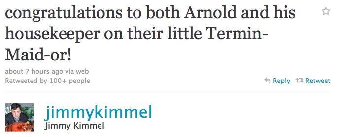 Celebs Opine On Arnold's Love Child