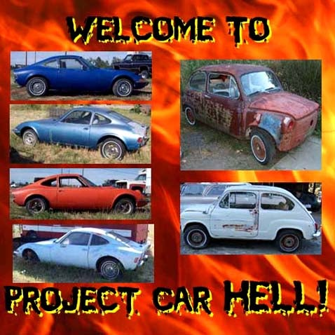 Project Car Hell: Four Opel GTs or Two Fiat 600s?