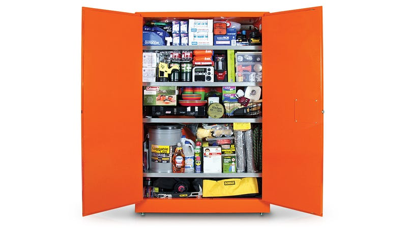 $14,500 Cabinet Contains Everything You Need To Survive the Apocalypse