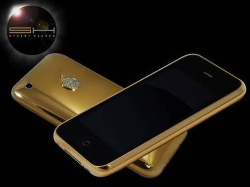 First Solid Gold iPhone Takes Tackiness to New Levels