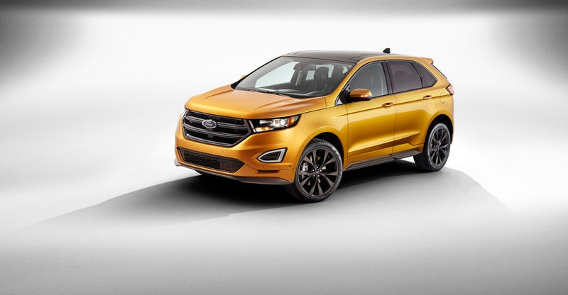 New Ford Edge Just 15 Feet Of Car