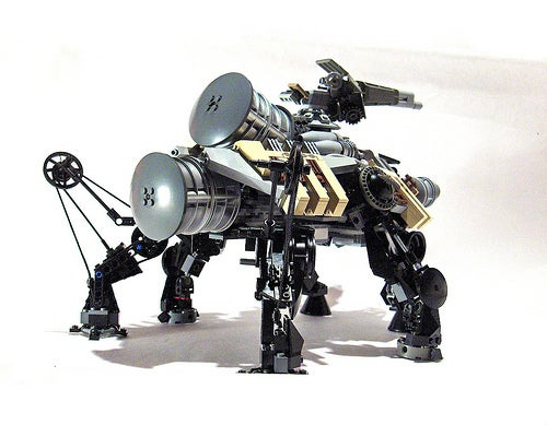 Steampunk LEGO Jabba Barge, Slave I and Other Amazing Steam Wars Models