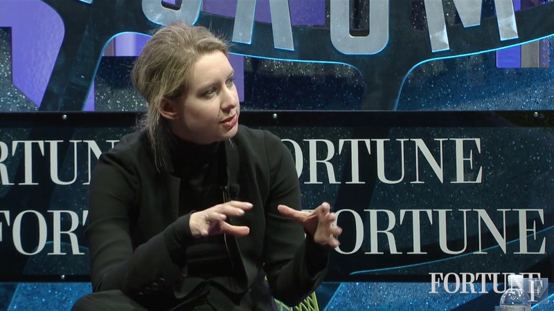 Theranos CEO Admits Her Blood Test Company Has a Communication Problem