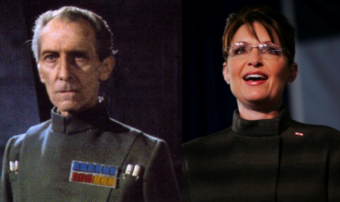 Sarah Palin To Command the Death Star?