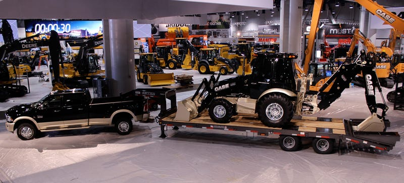 Could There Be A Market For Luxury Construction Vehicles?
