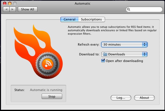Automatic Downloads New Torrents... Automatically