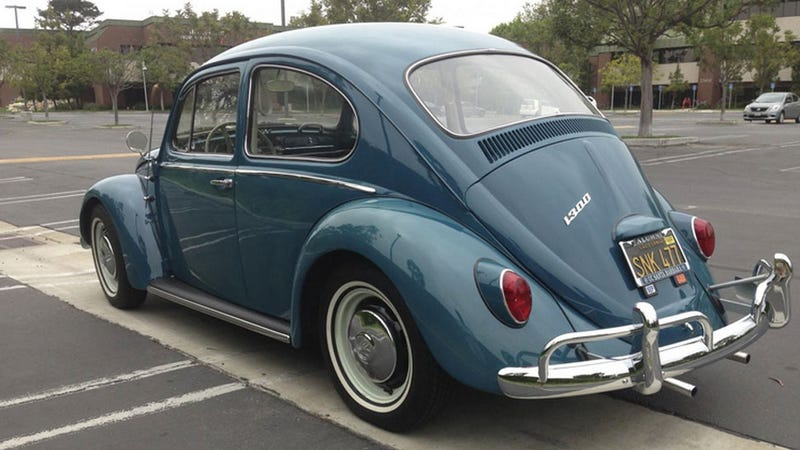 Lovely '66 VW Beetle Stolen From Hawthorne, CA