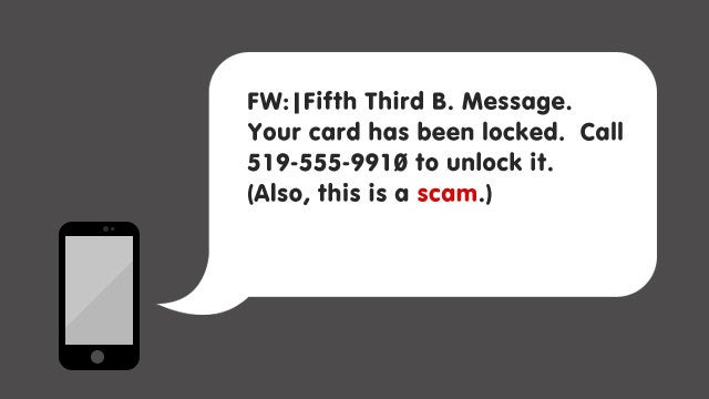 "Watch Out for This ""Unlock Your Debit Card"" Text Message"