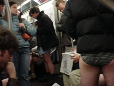Please Remember to Wear Your Pants on the Subway, Today