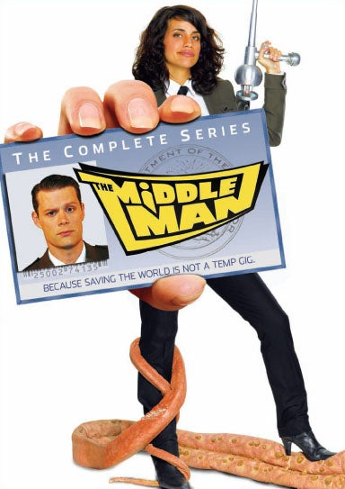 The Many DVD Covers Of The Middleman