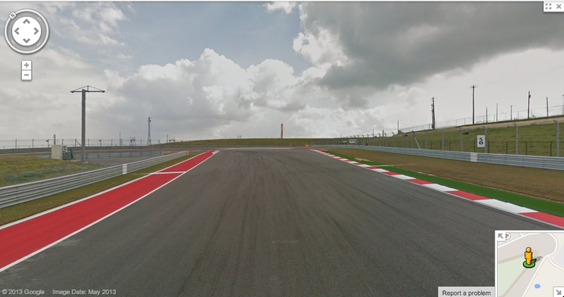 Take A Virtual Drive Of Circuit Of The Americas On Google Maps