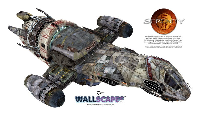 Ship Like This, Be With You 'Til The Day You Die: a 48-inch Poster of Joss Whedon's Serenity