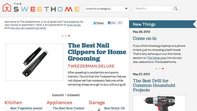 The Sweethome Lists the Best Products in Every Category for Your Home