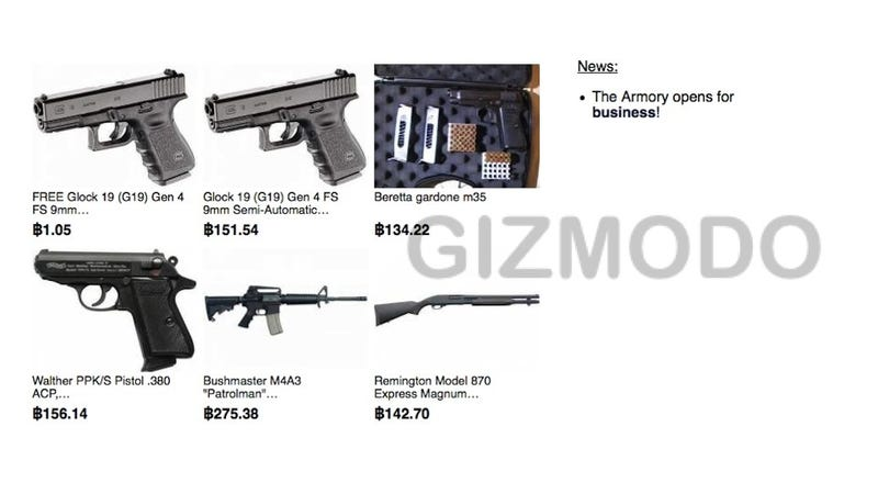 The Secret Online Weapons Store That'll Sell Anyone Anything