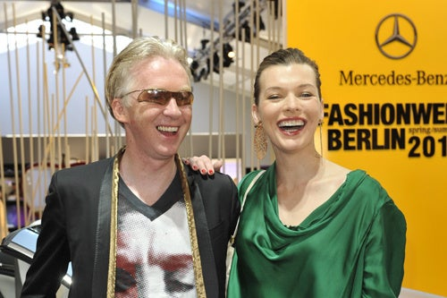 Milla Jovovich's Fashion Week Style & Smile