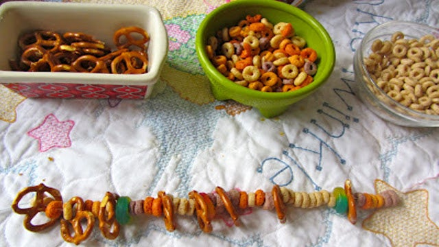 Snack Necklaces Keep Munchies Handy
