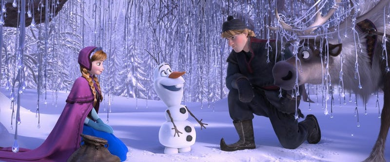 How did that silly snowman become the best part of Frozen?