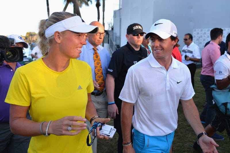 Rory McIlroy Did Not Let Caroline Wozniacki Down Easy