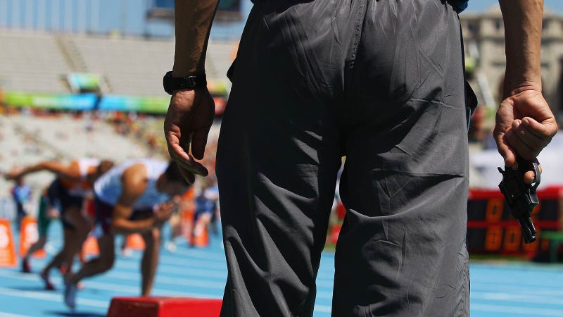 Olympic Track and Field Doesn't Use Starting Pistols Because the Speed of Sound Is Too Slow
