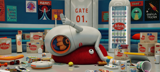 This animated short about a lazy guy in outer space is pretty hilarious