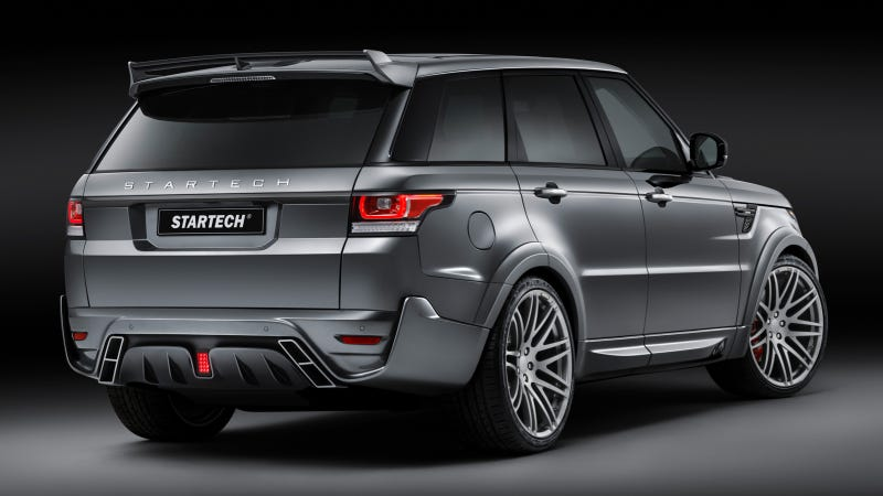 Brabus Kit Tries To Turn Range Rover Sport Into Very Large Hot Hatch