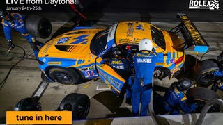 Turner Motorsport Livestream: Rolex 24 at Daytona. Watch it here!