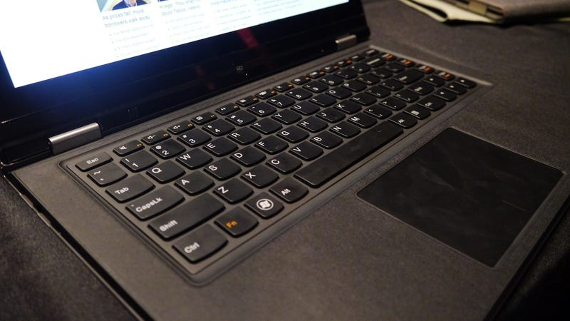 Lenovo Yoga: This Windows 8 Ultrabook Moonlights as a Tablet