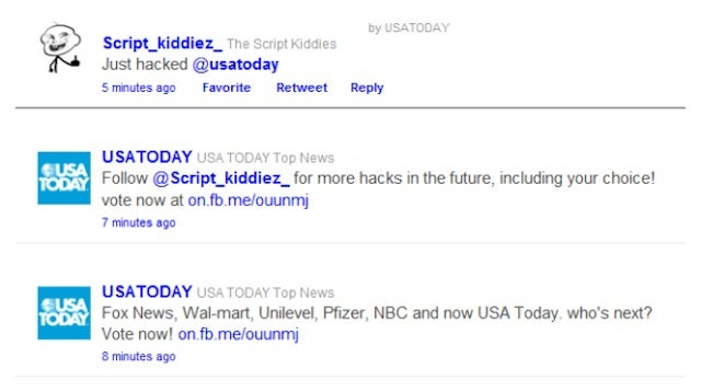 Uncreative Hackers Waste Great Opportunity to Screw With USA Today