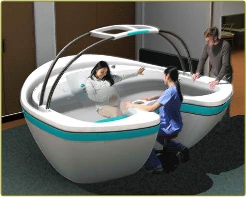 Waterbirth Vessel Concept Recreates the 'Tide at Omaha Beach' in Your Hot Tub