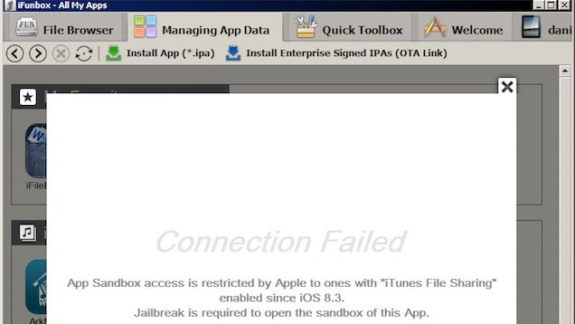 iOS 8.3 Prevents Desktop File Explorers from Accessing Apps
