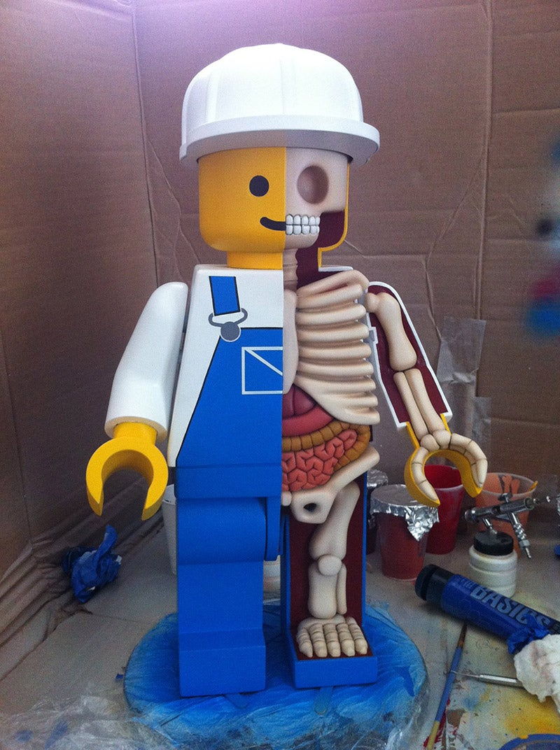 Anatomy of a LEGO Man
