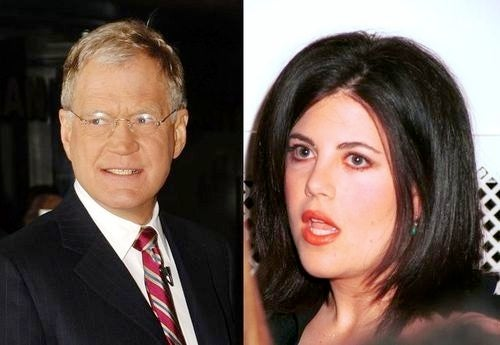 Letterman Haunted by the Ghosts of Monica Lewinsky Jokes Past