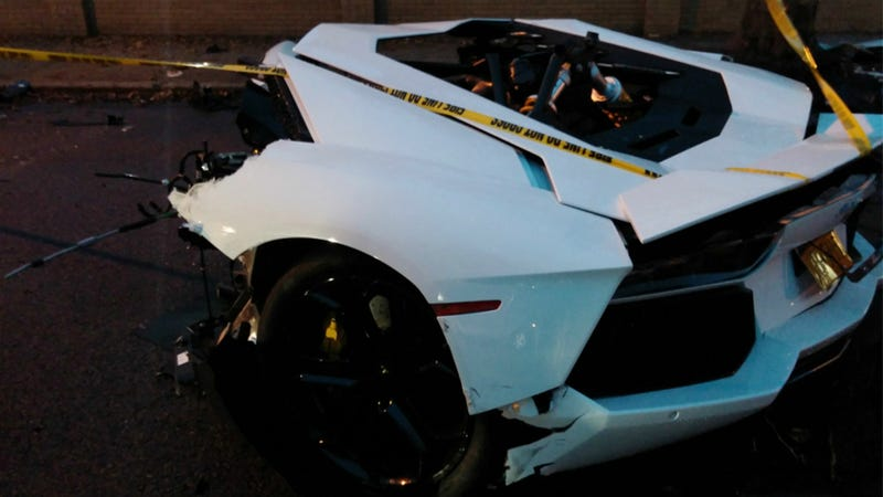 This Is What It Looks Like When You Tear A Lamborghini In Half