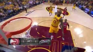 LeBron James Defeats Gravity