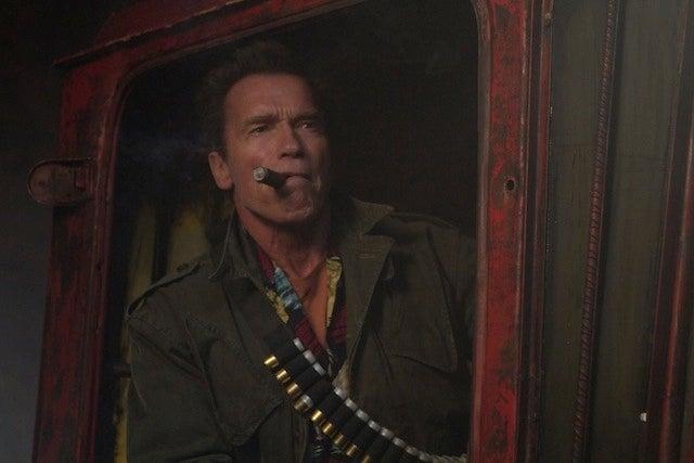 Arnold Schwarzenegger shuffles into tearjerker zombie film Maggie