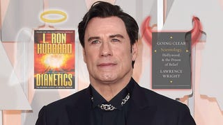 John Travolta Wants Critics to 'Read a Book,' Just Not <i>Going Clear</i>