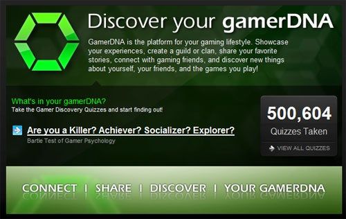 GamerDNA - What Kind Of Gamer Are You?
