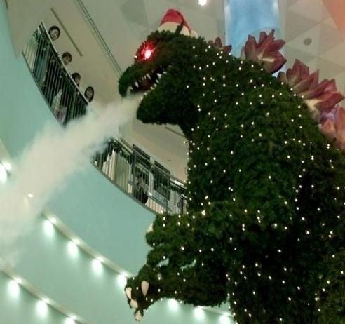Godzilla vs. Baby Jesus