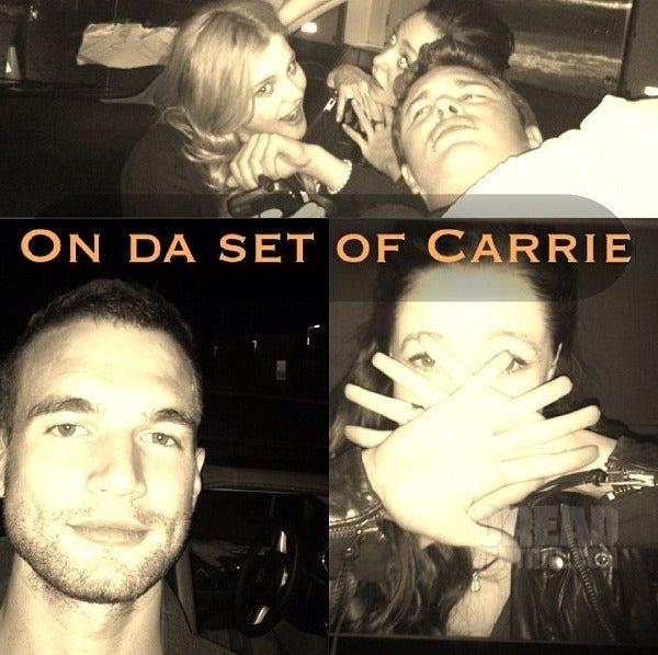 Carrie - Set Photos