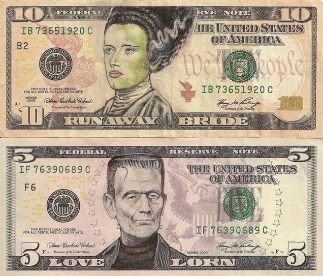 I wish these were real dollar bills because they are brilliant